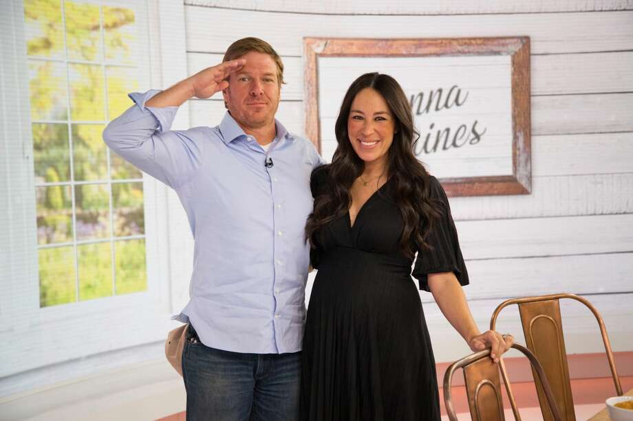 Chip and Joanna Gaines on Tuesday, April 24, 2018.