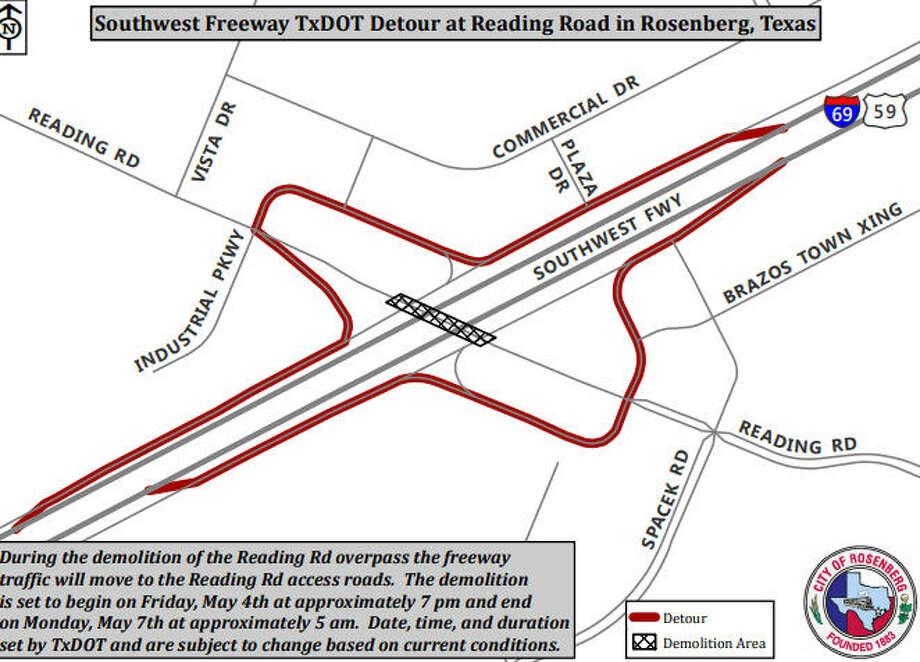 Map Of Interstate 69 In Texas.Txdot To Demolish Reading Road Bridge At I 69 Houston Chronicle