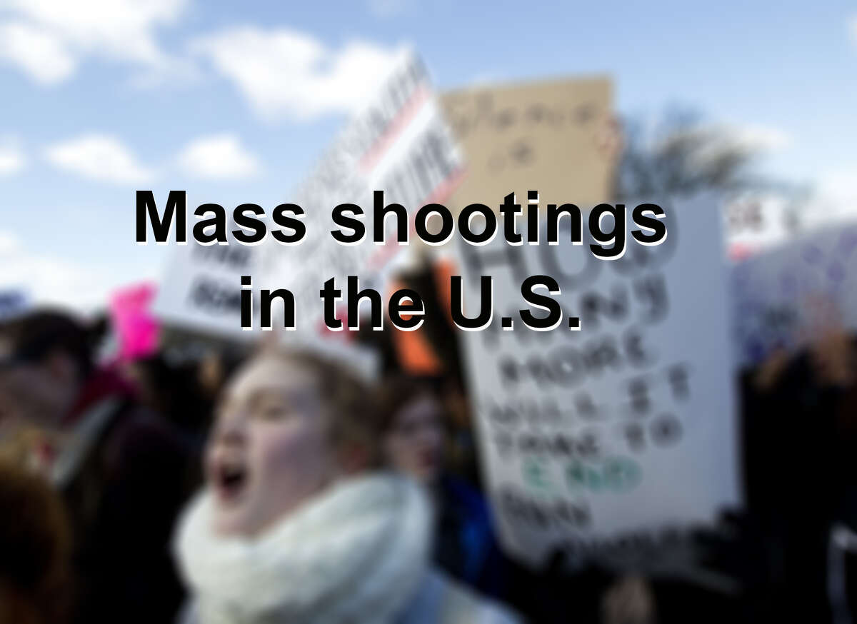 Scroll through to see U.S. mass shootings over the years.