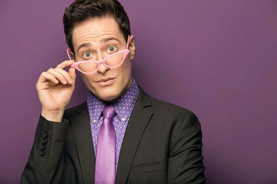 Actor-comedian Randy Rainbow's YouTube spoofs have scored tens of millions of hits. He will be bringing his stage show to Ridgefield Playhouse on May 19. Photo: Ridgefield Playhouse /Contributed Photo / Connecticut Post Contributed