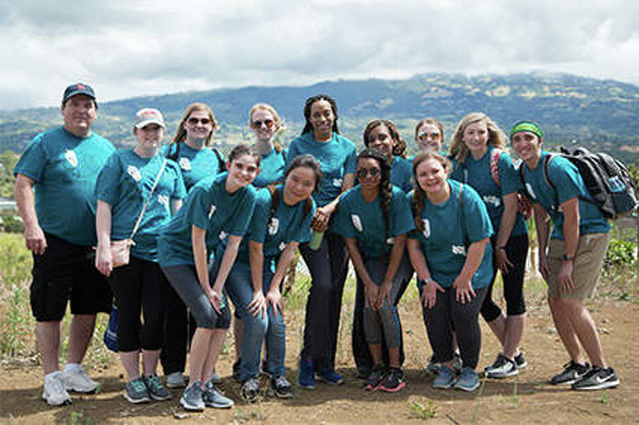 Terry Wooten will earn a bachelor's in nursing from SIUE in May. Here he stands (far left) with other students and faculty who participated in a service trip to Costa Rica in March 2018. Photo:       For The Telegraph