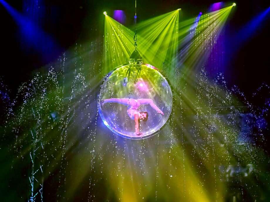 "If you go: Cirque Italia: ""Aquatic Spectacular,"" 7:30 p.m. today through Sunday, 1:30 and 4:30 p.m. Saturday and Sunday. At Music City Mall, 4101 E. 42nd St., Odessa. $20-$40 adults, $10-$35.cirqueitalia.com/tickets. Photo: Courtesy Photo"