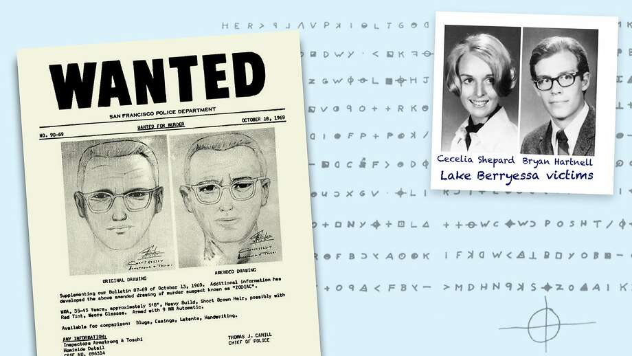 The Zodiac Killer was never caught. He is known to have attacked seven victims, killing five, in Benicia, Vallejo, Lake Berryessa and San Francisco. Two people survived, and the Zodiac claimed responsibility for many more deaths in letters, often signed with a symbol of a cross over a circle. Photo: Photo Illustration / Sacramento Bee
