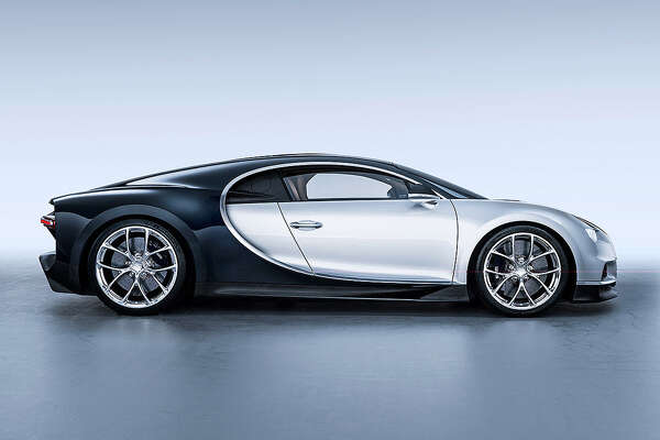 The $3 million Bugatti Chiron, with a top speed of 261 mph, will be among 80 vehicles from the legendary Italian manufacturer on display as part of September's Saratoga Wine and Food Festival.