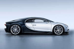The $3 million Bugatti Chiron, with a top speed of 261 mph, will be among 80 vehicles from the legendary Italian manufacturer on display as part of this weekend's Saratoga Wine and Food Festival.