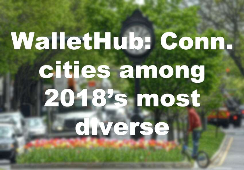 Click through the slideshow to see where several Connecticut locales fall on WalletHub's list of the most diverse cities. Scores were compiled on a 100-point scale, with 100 representing the most diverse city. More data here