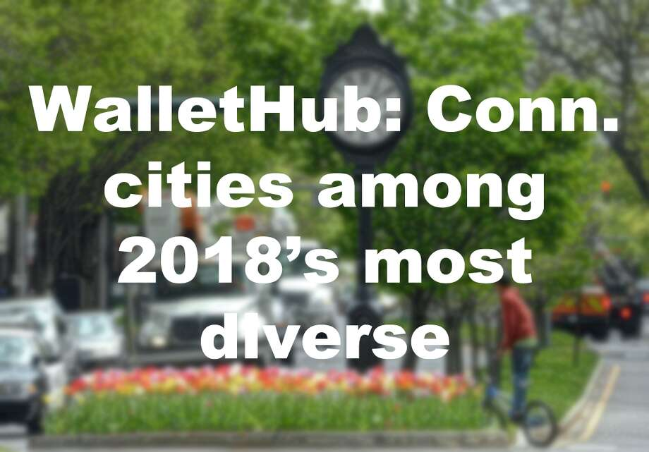 Click through the slideshow to see where several Connecticut locales fall on WalletHub's list of the most diverse cities. Scores were compiled on a 100-point scale, with 100 representing the most diverse city.