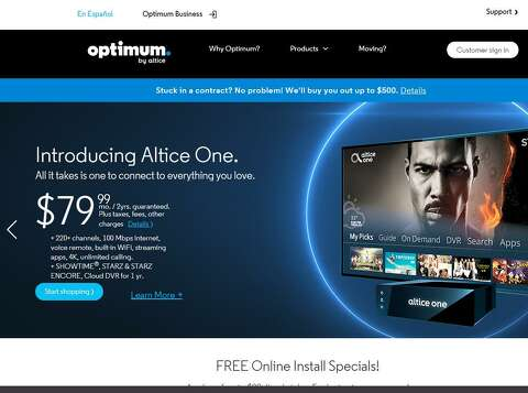 After profitable 2017, Altice USA hikes Optimum prices - The Hour