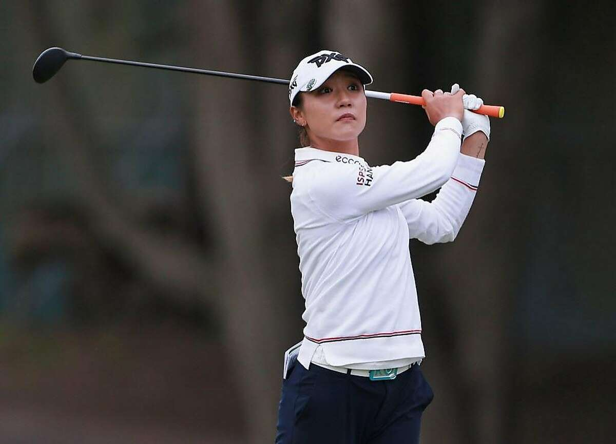 DALY CITY, CA - APRIL 29: Lydia Ko of New Zealand hits her second shot on the 18th hole during the final round of the Mediheal Championship at Lake Merced Golf Club on April 29, 2018 in Daly City, California. (Photo by Matt Sullivan/Getty Images)