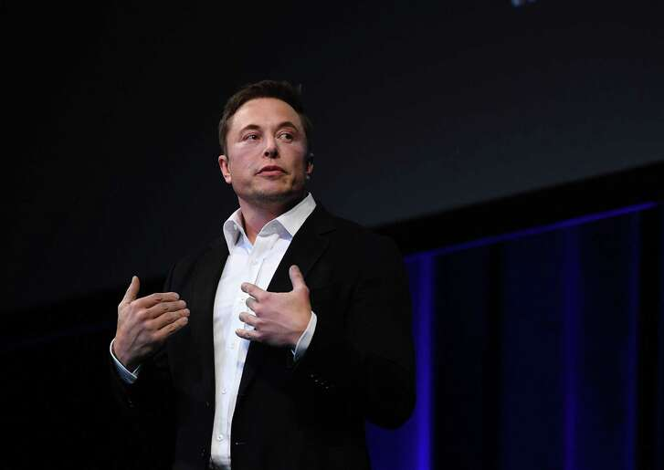 File photo of Tesla CEO Elon Musk. Shares of the automaker plunged Thursday after Musk dismissed analysts questions on a call about the company's first-quarter earnings late Wednesday. The comments — part of a bizarre, heated conference call after the close Wednesday — sent the electric-car maker's stock plunging.