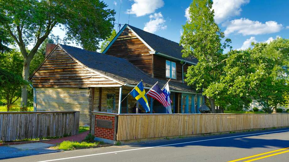 America's oldest log cabin at 406 Swedesboro Rd. Gibbstown, NJ is on the market for $2,900,000. www.toptenrealestatedeals.com Photo:  Weichert Realty