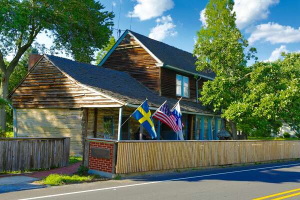 America's oldest log cabin at 406 Swedesboro Rd. Gibbstown, NJ is on the market for $2,900,000. www.toptenrealestatedeals.com
