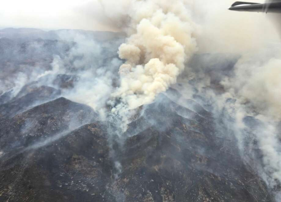 As of noon Thursday the McDannald Fire was at 15 percent containment.