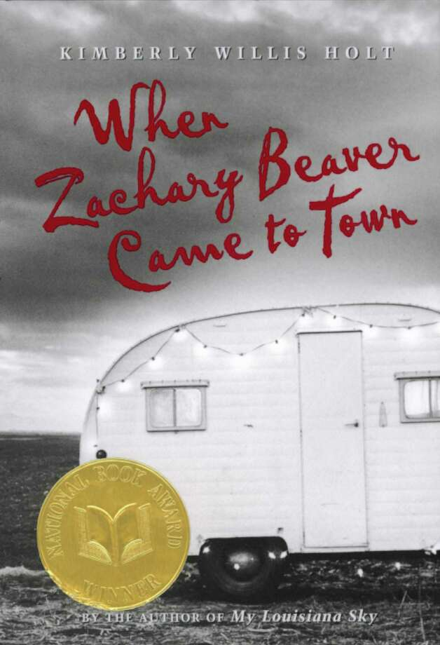 "BOOK JACKET -""WHEN ZACHARY BEAVER CAME TO TOWN"" BY KIMBERLY WILLIS HOLT. HOUCHRON CAPTION (12/16/1999): ""When Zachary Beaver Came to Town"" concerns a 13-year-old boy who befriends ""the fattest boy in the world."" Fairfield resident Christy Ottaviano edited the book. Photo: Kimberly Willis Holt / Henry Holt / handout"