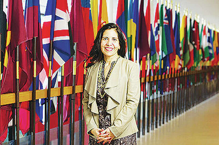Silvia Torres Bowman, director of the International Trade Center at Southern Illinois University Edwardsville