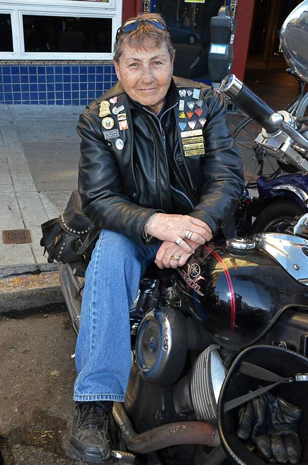 Soni Wolf and other bikers in the 1978 Pride Parade fought for the rights to the name Dykes on Bikes. Photo: Katharine Saunders
