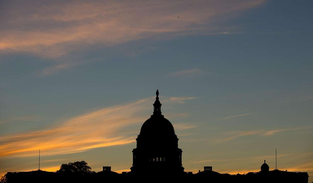 In this Sept. 15, 2013, file photo, the U.S. Capitol dome is silhouetted by the sunrise. Doctors who treat Medicare patients would get a last-minute reprieve from a scheduled 24 percent cut in their reimbursements from the government under a bill that�s on track to pass the House. It would be the 17th time Congress has stepped in with a temporary fix to a poorly designed Medicare fee formula that dates to a 1997 budget law. House action comes after efforts to permanently fix the formula appear to have fizzled. (AP Photo/Carolyn Kaster, File)