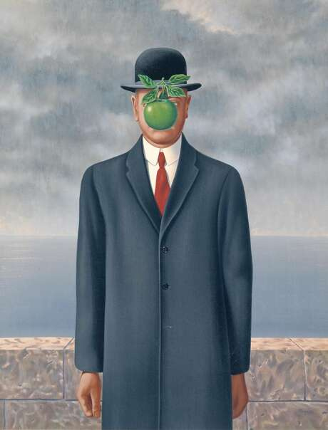 "René Magritte, ""Son of Man,"" 1964. Photo: Charly Herscovici, Brussels / Artists Rights Society, New York"