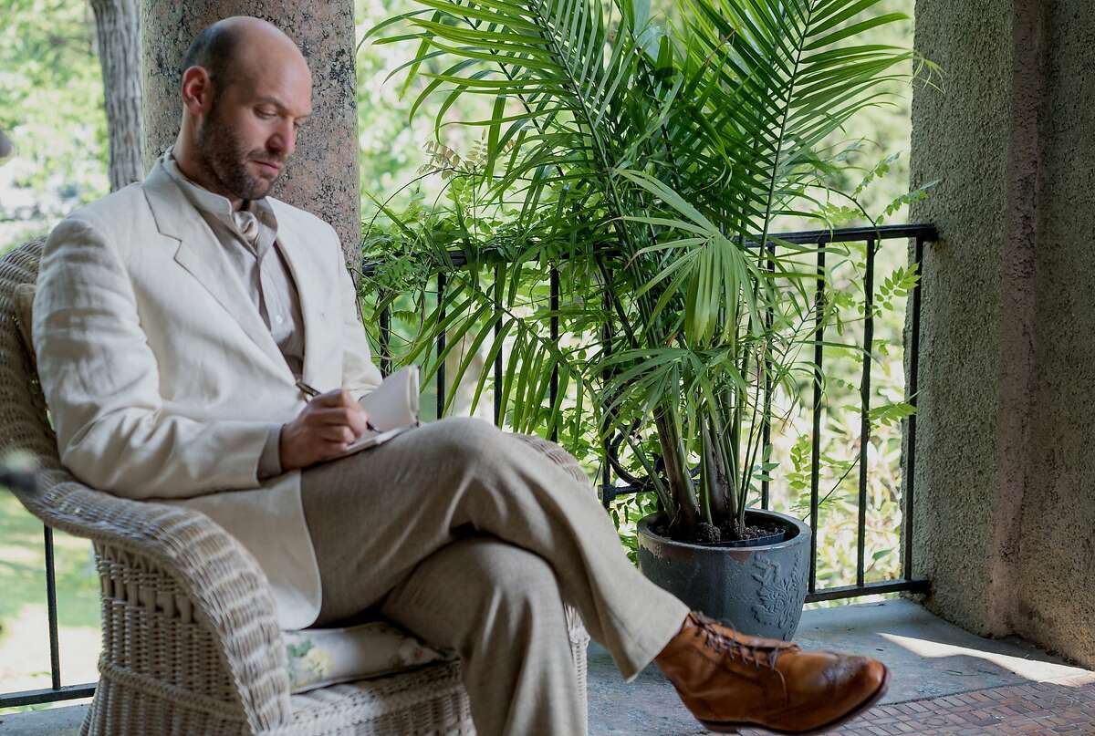 """Corey Stoll as Boris Trigorin in Michael Mayer's adaptation of Anton Chekhov's """"The Seagull,"""" opening at Bay Area theaters on May 18. Photo by Nicole Rivelli, courtesy of Sony Pictures Classics."""