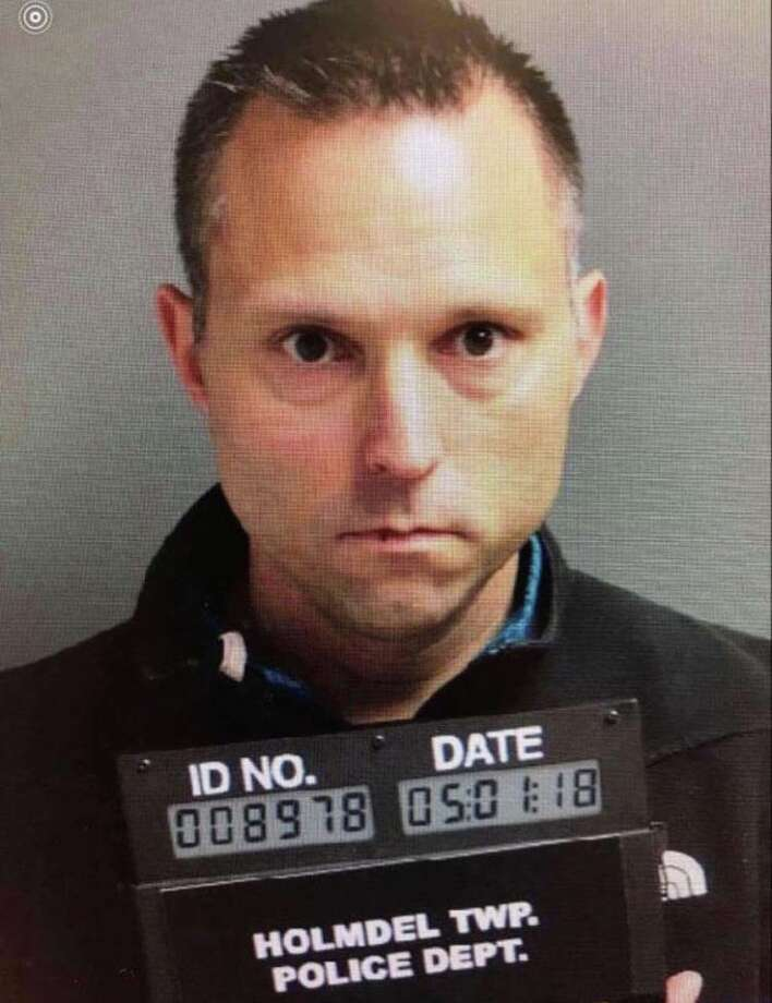 Thomas Tramaglini, 42, has led the Kenilworth School District since Aug. 2015. He was arrested at 5:50 a.m., Monday after he was seen defecating on the football field. Photo: Holmdel Township Police Department