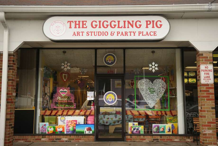 The Giggling Pig art studio for kids at 478 River Road in Shelton on Wednesday, March 6, 2013. Photo: Brian A. Pounds / Brian A. Pounds / Connecticut Post