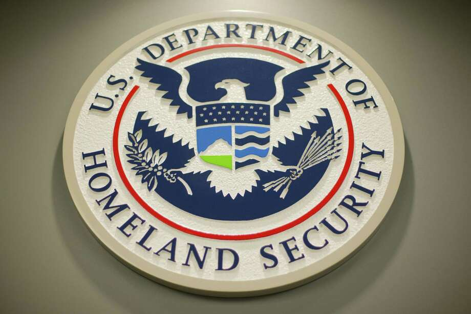 The United States Citizenship and Immigration Services Agency, part of the Department of Homeland Security, is being sued by smaller tech staffing firms over new H-1B visa requirements. Photo: Pablo Martinez Monsivais / AP / AP