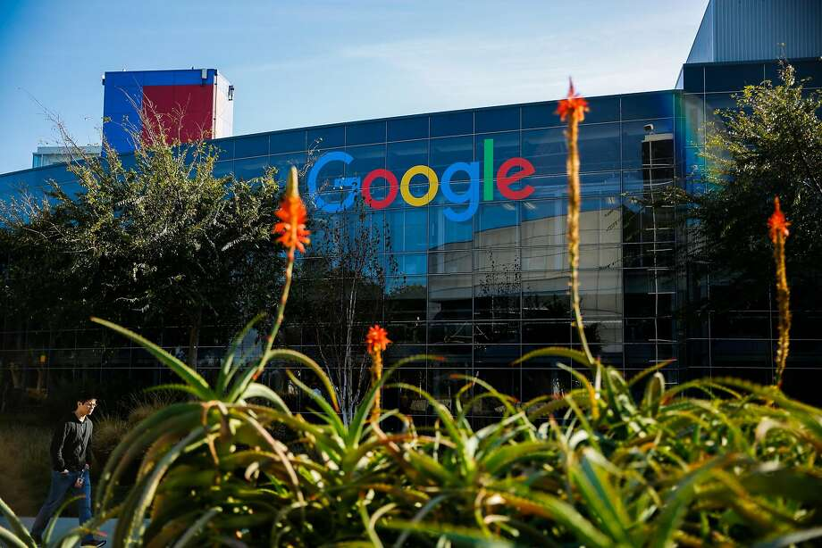 Google in Mountain View is among the big corporations that are sidestepping the utilities and buying energy on their own. Photo: Gabrielle Lurie / The Chronicle 2017