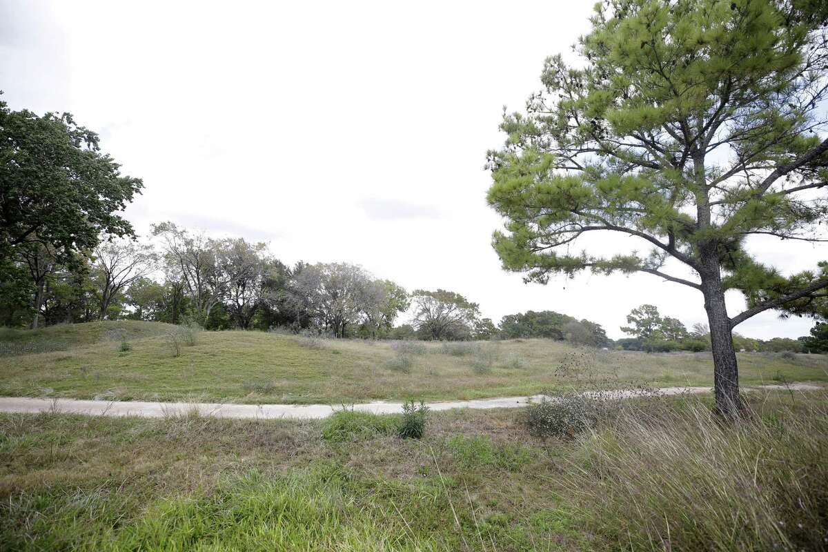 The former Pine Crest Golf Course, 3080 Gessner Road in Houston, is shown on Oct. 31, 2017.