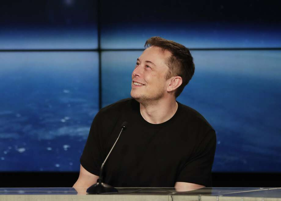FILE - In this Feb. 6, 2018, file photo, Elon Musk, founder, CEO, and lead designer of SpaceX, speaks at a news conference. Photo: John Raoux, Associated Press