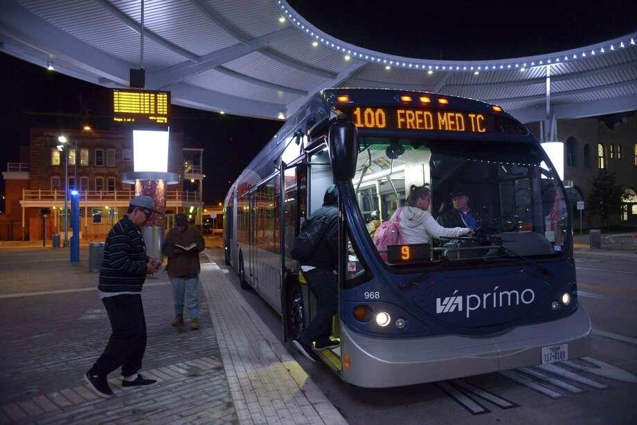 No Rail In Transit Plan No Problem San Antonio Express News