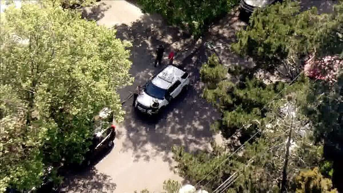 Officials from several agencies were investigating a shooting scene in Mill Valley on Thursday, May 3, 2018.
