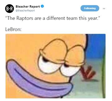 LeBron James destroyed the Raptors and the memes were perfect