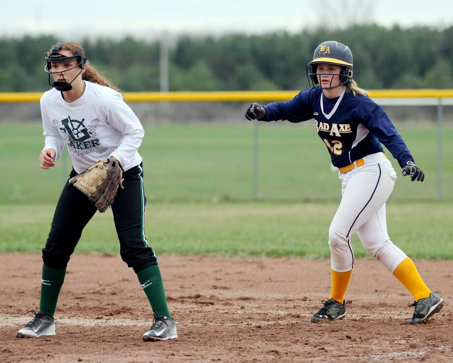 EPBP at Bad Axe — Softball 2018 Photo: Mike Gallaher/Huron Daily Tribune