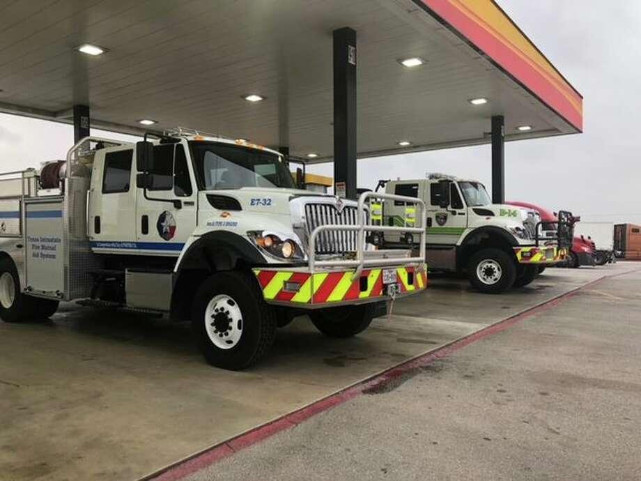 Fort Davis fires Photo: Porter Fire Department