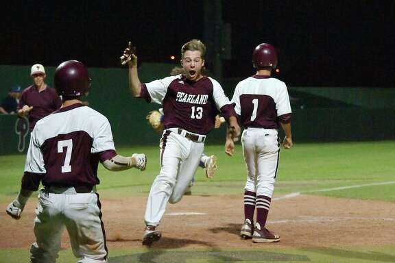 Pearland's Matt Adams (13) provides the Oilers with returning experience on the mound and at third base.
