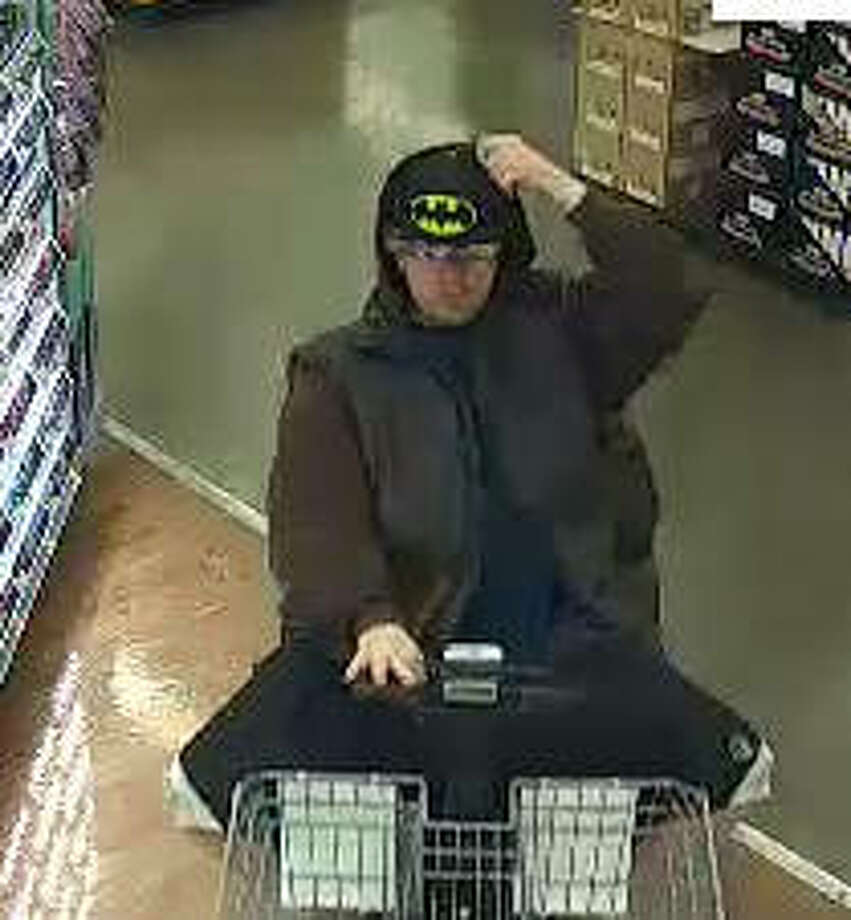 A surveillance photo of the suspect. Photo:       For The Telegraph