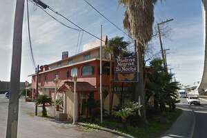 Piedras Negras de Noche Restaurant: 1322 S. Laredo St., San Antonio, TX 78207   Date: 05/01/2018 Score: 65   Highlights: Inspector observed onions and potatoes outside in rain; drink bags/boxes were wet from rain, some bags were on floor in water puddles from rain; dead insects seen inside light shields, evidence of roaches seen in establishment; black buildup around ice shoot; food not protected from cross-contamination (several containers in walk-in, reach-in coolers without covers); food not held at correct temperature (cooked beef on cold-hold unit service line); reach-in cooler not holding correct temperature; food not protected from cross-contamination (raw meat, cut tomatoes); employees seen not washing hands between tasks; employee seen handling ready-to-eat foods with bare hands; prepared foods must be labeled with expiration date (some had no date, some had raw date); no Certified Food Manager present at time of inspections; poisonous/toxic chemicals seen stored near food area (dirty cups in cleaning solution stored over box of lemons); sliding plastic doors on ice machine must be in food repair; standing water observed in garbage area; ware washing machine not properly sanitizing dishes