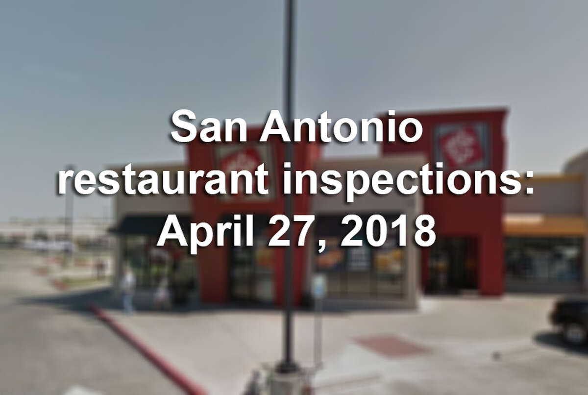 Click ahead to see which establishments made our list of dirtiest restaurants in San Antonio in the last week of April.
