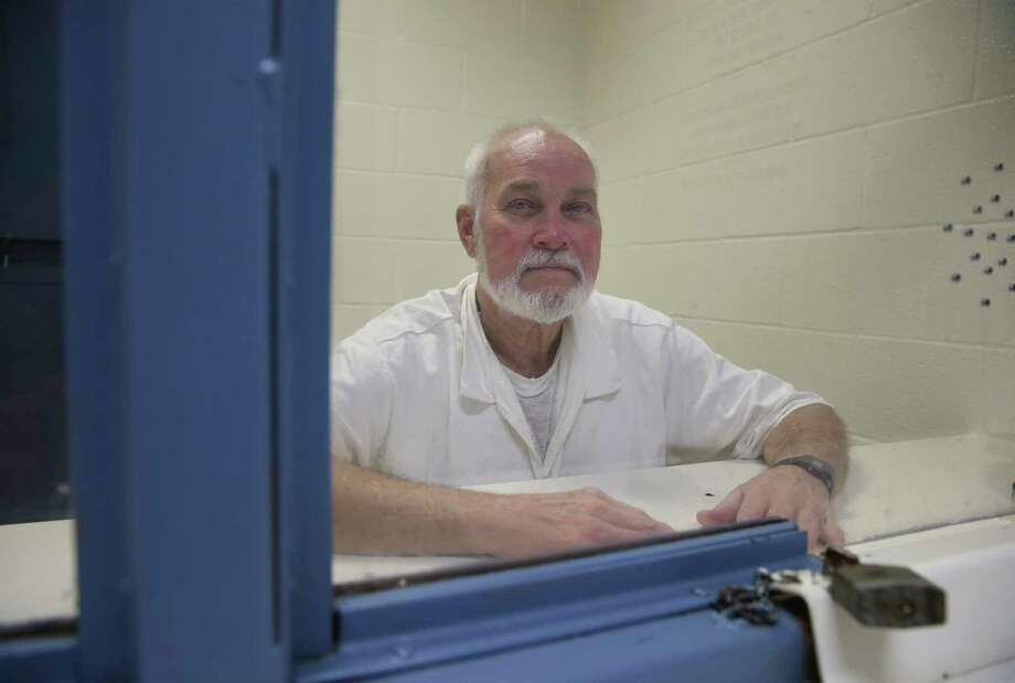 Richard Elvin King poses on Wednesday, Feb. 21, 2018, for a photo at the LeBlanc Unit where he was transferred in the wake of a judge's ruling that he needed to be housed in cooler living quarters to protect him from the heat. He has since been transferred back to the geriatric Pack Unit. King is one of more than a dozen inmates who attached their names to a class action lawsuit over unmitigated, life threatening heat in their prison. Photo: Yi-Chin Lee / © 2018 Houston Chronicle