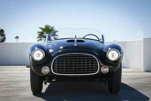 The 1952 Ferrari 212/225 Barchetta by Touring Suerleggera that is on display at the show is the last Barchetta built, and the final non-racing Ferrari by Touring. (Photo courtesy of Keels & Wheels Concours D'Elegance)