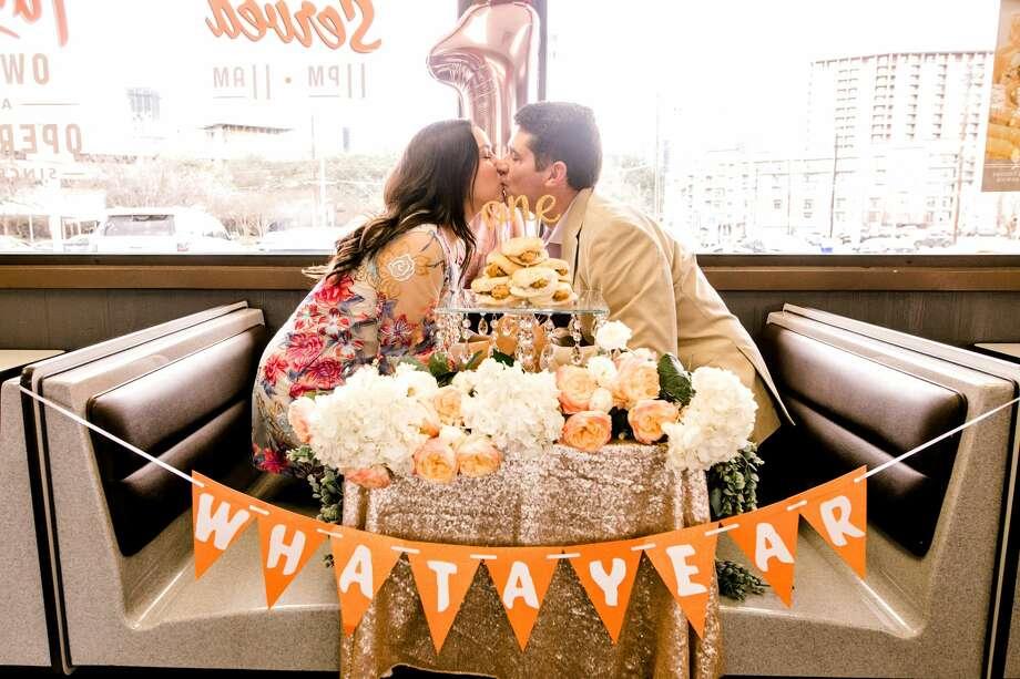 Texas Couple Celebrates Wedding Anniversary At Whataburger Laredo