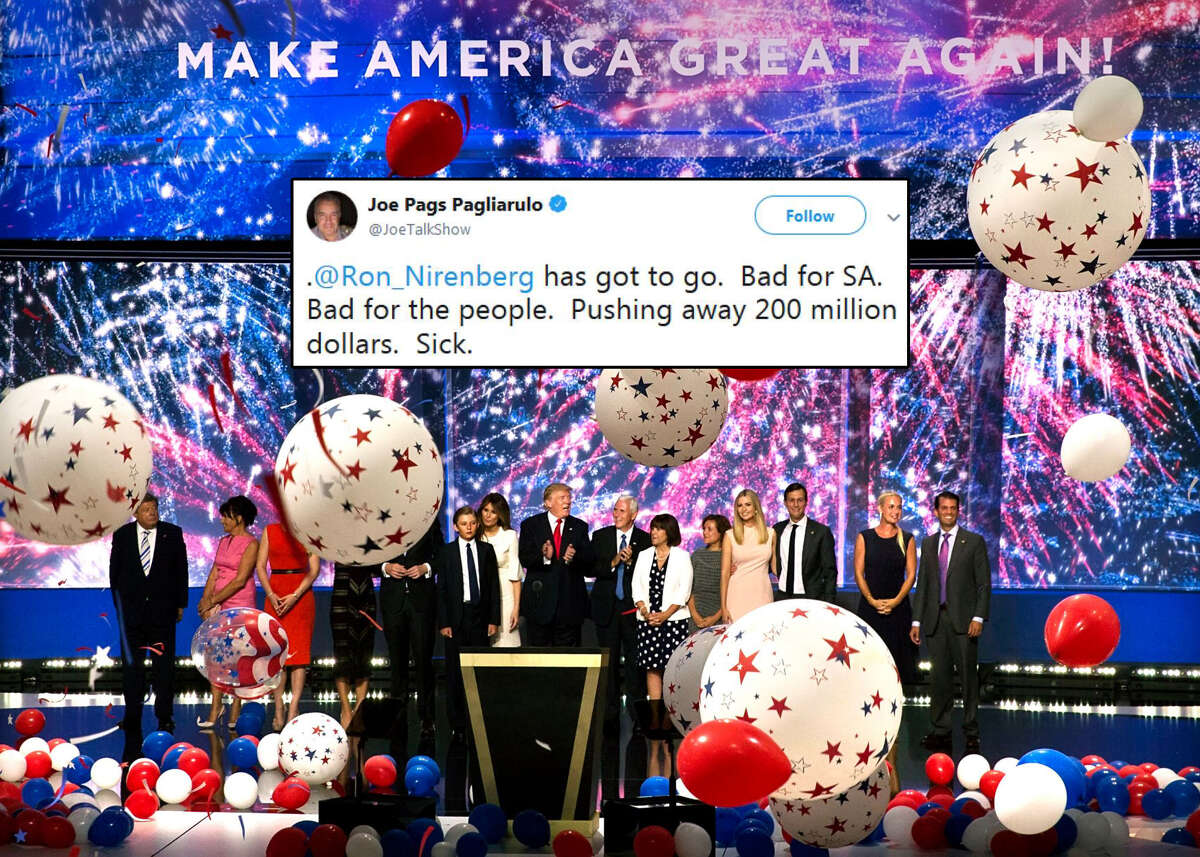 Click ahead to see San Antonians' reactions to the city opting out of a bid to host the 2020 Republican National Convention.