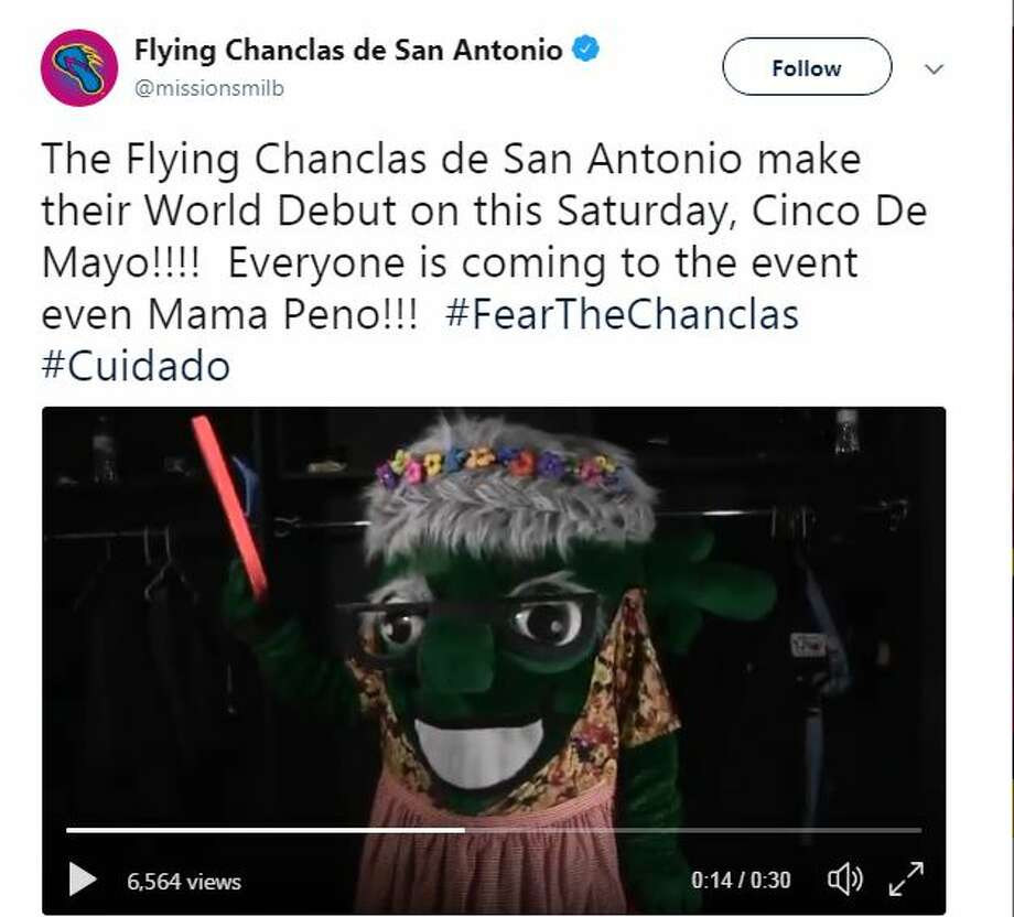 Estate Sales Near Me This Weekend: Flying Chanclas Reveal 'Mama Peno' Mascot Ahead Of