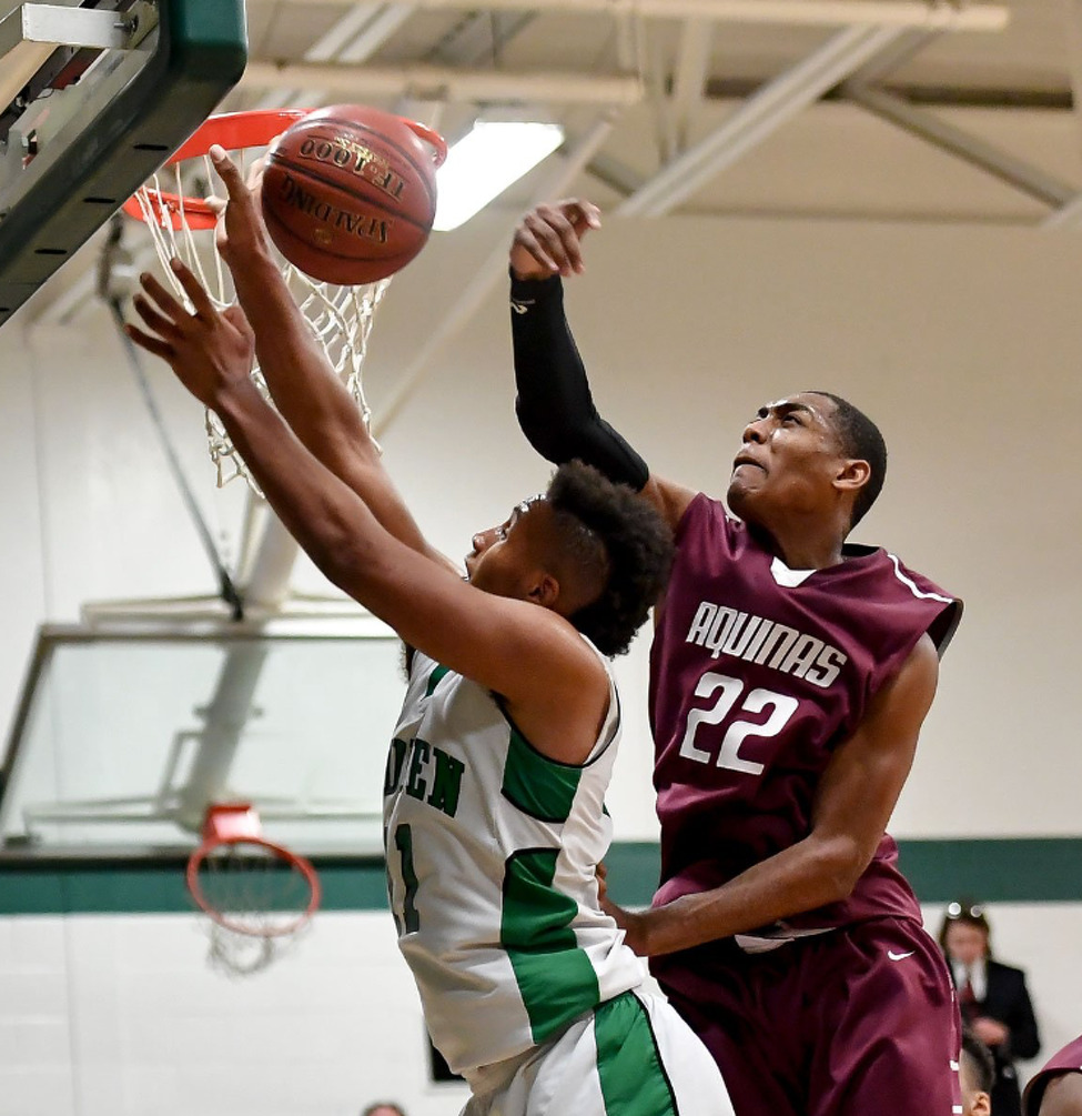Siena recruit Jalen Pickett played at Aquinas Institute in Rochester. (Courtesy of Jalen Pickett)