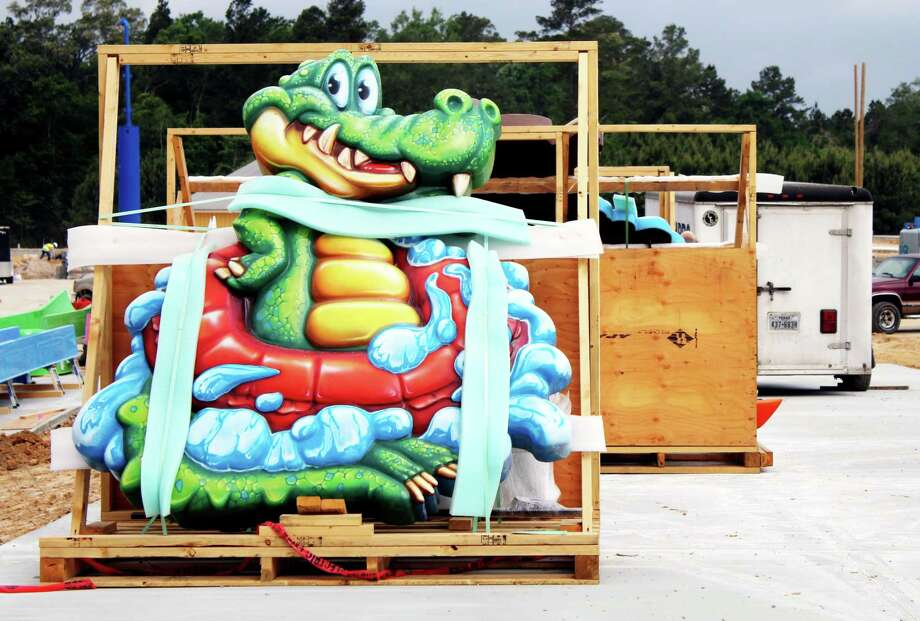 Big Al and the rest of his friends will be displayed on Gator Splash. Photo: Kaila Contreras