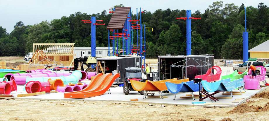 Gator Splash will have eight slides and 300 water features. Photo: Kaila Contreras