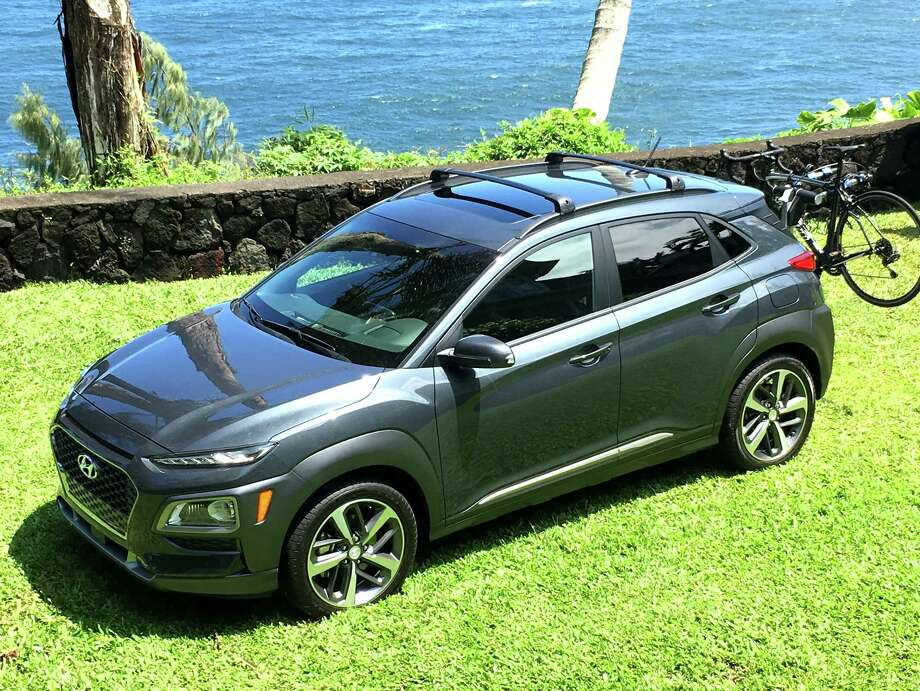 Hyundai's all-new Kona small crossover has arrived for 2018, joining a growing field of small CUVs that bring a combination of utility and economy of operation. Prices start at $19,500 (plus $950 freight), and run as high as $28,700. Photo: G. Chambers Williams III