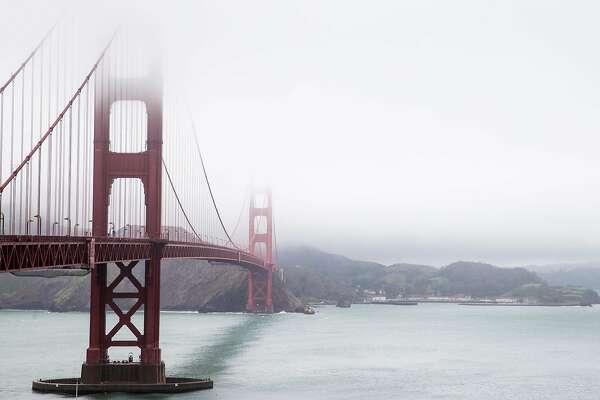 The Golden Gate Bridge seen Thursday, March 22, 2018 in San Francisco, Calif.