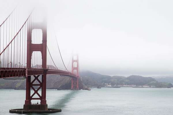 Image result for foggy golden gate bridge