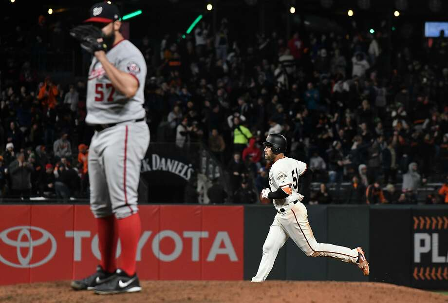 Mac Williamson's early home run success has been his mastery of the 'launch angle,' but how far will that carry him? Photo: Thearon W. Henderson / Getty Images